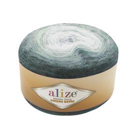 Пряжа Alize Angora Gold Ombre Batik - 7230 мор.волна, Цвет: 7230 мор.волна