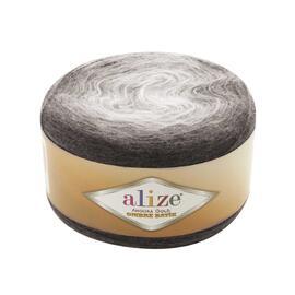 Пряжа Alize Angora Gold Ombre Batik - 7267 коричневый, Цвет: 7267 коричневый