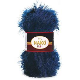 Пряжа Nako Rain - 6639 тем.синий, Цвет: 6639 тем.синий
