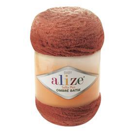Пряжа Alize Softy Plus Ombre Batik - 7289 терракот, Цвет: 7289 терракот