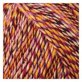 Пряжа Yarnart Jeans Tropical - 613 осень меланж, Цвет: 613 осень меланж