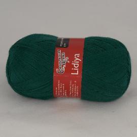 Пряжа Семеновская Лидия Пш - 39 изумруд, Цвет: 39 изумруд
