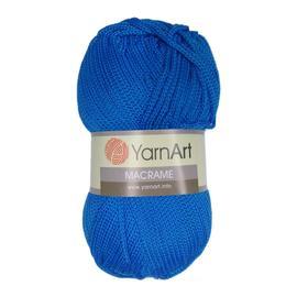 Пряжа Yarnart Macrame - 139 тём.голубой, Цвет: 139 тём.голубой