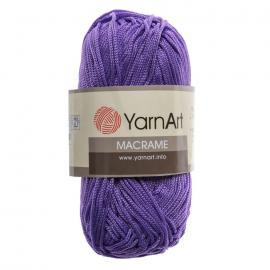 Пряжа Yarnart Macrame - 135 яр.сирень, Цвет: 135 яр.сирень