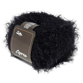 Пряжа Silke Cipria - 90 черный, Цвет: 90 черный