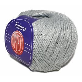 Пряжа Gptex Futura - 56 серебристый, Цвет: 56 серебристый