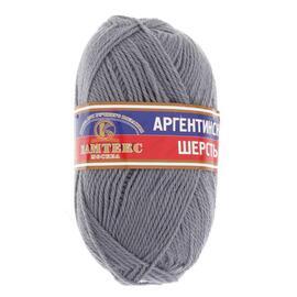 Пряжа Камтекс Аргентинская Шерсть - 169 серый, Цвет: 169 серый
