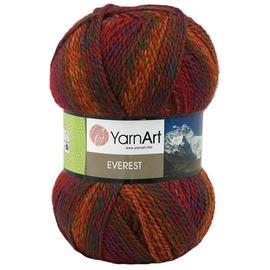 Пряжа Yarnart Everest - 7034 бордо, Цвет: 7034 бордо