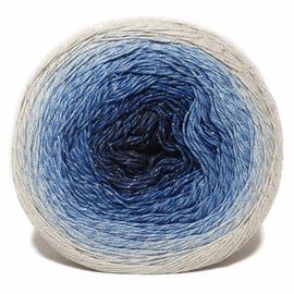 Пряжа Yarnart Flowers Moonlight - 3271 серый/синий, Цвет: 3271 серый/синий