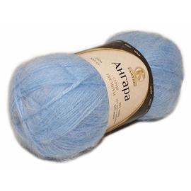 Пряжа Камтекс Ангара - 015 голубой, Цвет: 015 голубой