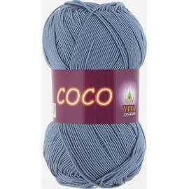 Пряжа Vita Cotton Coco - 4331 потертая джинса, Цвет: 4331 потертая джинса