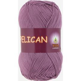Пряжа Vita Cotton Pelican - 4008 п.сирень, Цвет: 4008 п.сирень