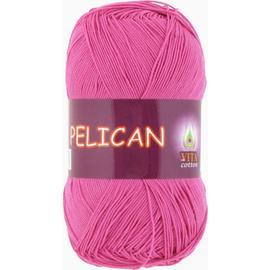 Пряжа Vita Cotton Pelican - 4009 т.розовый, Цвет: 4009 т.розовый