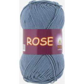 Пряжа Vita Cotton Rose - 4257 потертая джинса, Цвет: 4257 потертая джинса