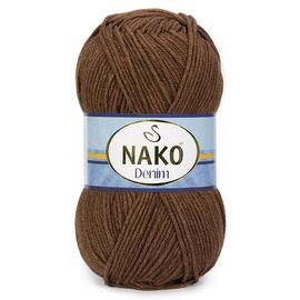 Пряжа Nako Denim - 2001 кофе, Цвет: 2001 кофе