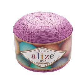 Пряжа Alize Diva Ombre Batik - 7244 фуксия, Цвет: 7244 фуксия