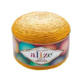 Пряжа Alize Diva Ombre Batik - 7358 канарейка, Цвет: 7358 канарейка