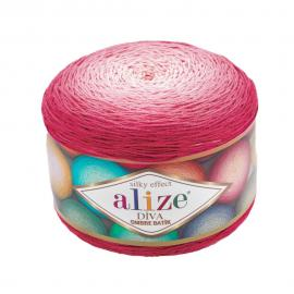 Пряжа Alize Diva Ombre Batik - 7367 мальва, Цвет: 7367 мальва