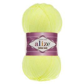 Пряжа Alize Cotton Gold - 668 незрелый лимон, Цвет: 668 незрелый лимон