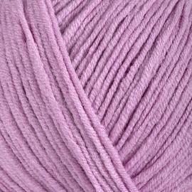 Пряжа Gazzal Jeans-Gz - 1104 розовый, Цвет: 1104 розовый