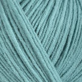 Пряжа Gazzal Jeans-Gz - 1108 пыл.зел.бирюза, Цвет: 1108 пыл.зел.бирюза