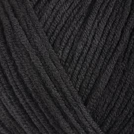 Пряжа Gazzal Jeans-Gz - 1111 черный, Цвет: 1111 черный