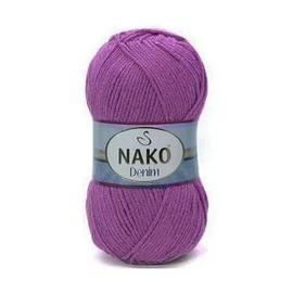 Пряжа Nako Denim - 6958 тем.сирень, Цвет: 6958 тем.сирень