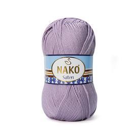 Пряжа Nako Saten 100 - 11471 гр.розовый, Цвет: 11471 гр.розовый