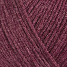 Пряжа Gazzal Jeans-Gz - 1139 бордо, Цвет: 1139 бордо