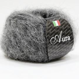 Пряжа Seam Aura - 802 тем.серый, Цвет: 802 тем.серый