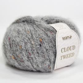 Пряжа Seam Cloud Tweed - 45822 серый, Цвет: 45822 серый