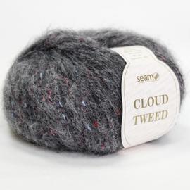 Пряжа Seam Cloud Tweed - 45823 тем.серый, Цвет: 45823 тем.серый