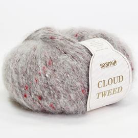 Пряжа Seam Cloud Tweed - 52456 серо-бежевый, Цвет: 52456 серо-бежевый