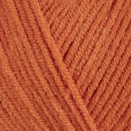 Пряжа Gazzal Baby Love - 1602 оранжевый, Цвет: 1602 оранжевый