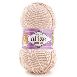 Пряжа Alize Cotton Gold - 401 телесный, Цвет: 401 телесный