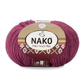 Пряжа Nako Pure Sock Plus - 569 пыльная роза, Цвет: 569 пыльная роза