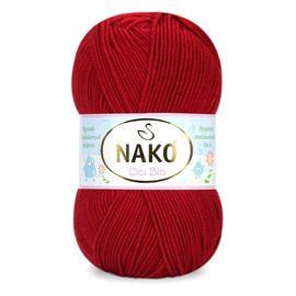 Пряжа Nako Cici Bio-Antibacterial - 4675 красный, Цвет: 4675 красный