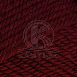 Пряжа Камтекс Меринго Объемная - 047 бордо, Цвет: 047 бордо