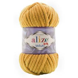 Пряжа Alize Velluto - 02 горчица, Цвет: 02 горчица