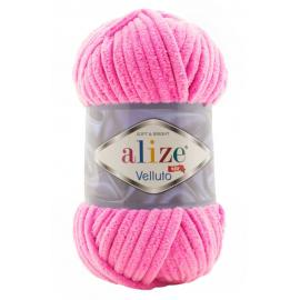 Пряжа Alize Velluto - 121 леденец, Цвет: 121 леденец