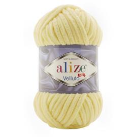 Пряжа Alize Velluto - 13 лимон, Цвет: 13 лимон
