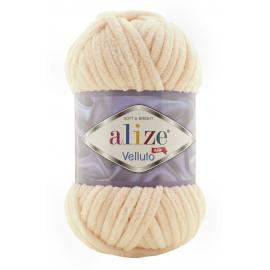 Пряжа Alize Velluto - 310 медовый, Цвет: 310 медовый