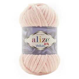 Пряжа Alize Velluto - 340 пудра, Цвет: 340 пудра