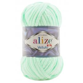 Пряжа Alize Velluto - 464 салат, Цвет: 464 салат