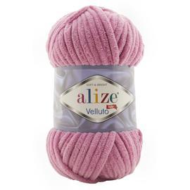 Пряжа Alize Velluto - 98 розовый, Цвет: 98 розовый
