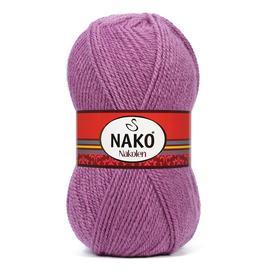 Пряжа Nako Nakolen - 1048 тем.розовый, Цвет: 1048 тем.розовый