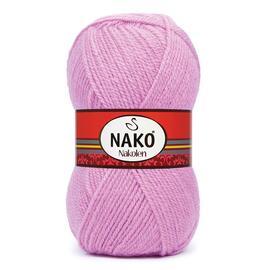 Пряжа Nako Nakolen - 1249 фуксия, Цвет: 1249 фуксия