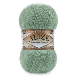 Пряжа Alize Angora Gold - 180 пыл.зелень, Цвет: 180 пыл.зелень