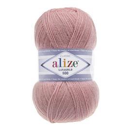 Пряжа Alize Lanagold 800 - 173 пыл.роза, Цвет: 173 пыл.роза