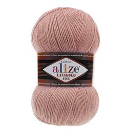 Пряжа Alize Lanagold Fine - 173 пыл.роза, Цвет: 173 пыл.роза